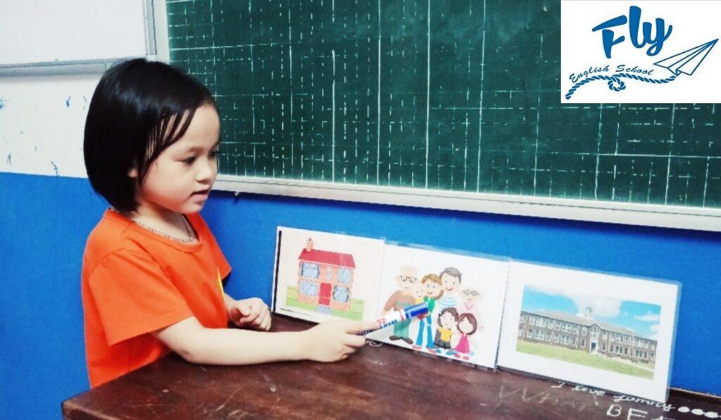 Anh ngữ đào tạo học viên nhí